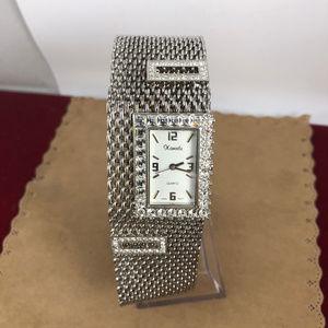 Vintage Accessories - Xanadu Silver Tone Watch Chain Maiel Bracelet